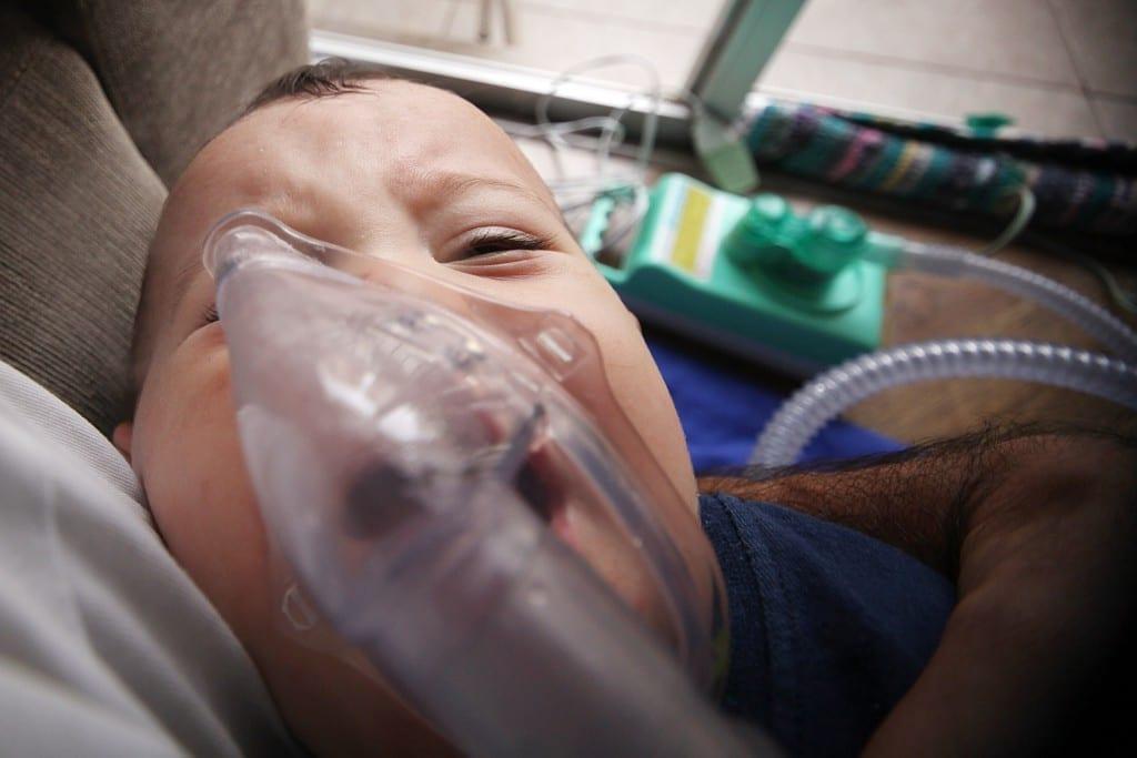 Casos de bronquiolite disparam com a chegada do frio (Foto: arquivo pessoal)
