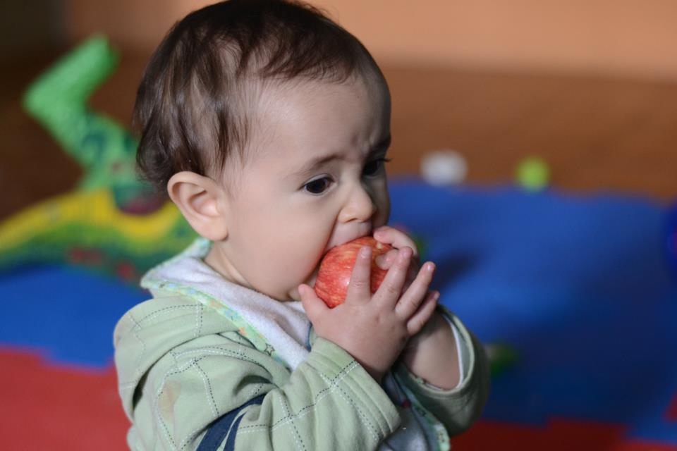 Introdução alimentar tem que ser feita aos poucos, sem pressa (Foto: Bia Fotografia)