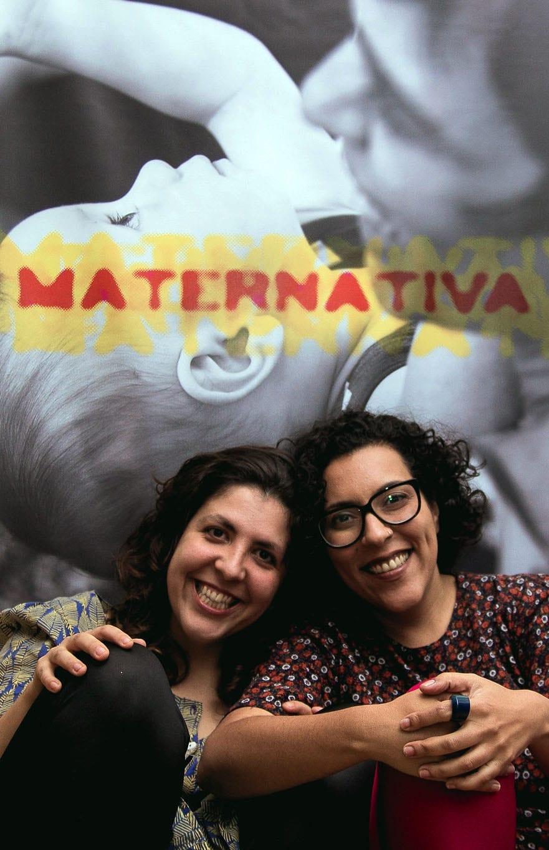 Ana Laura e Camila criaram o site para ajudar mães empreendedoras (Foto: Mel Coelho)