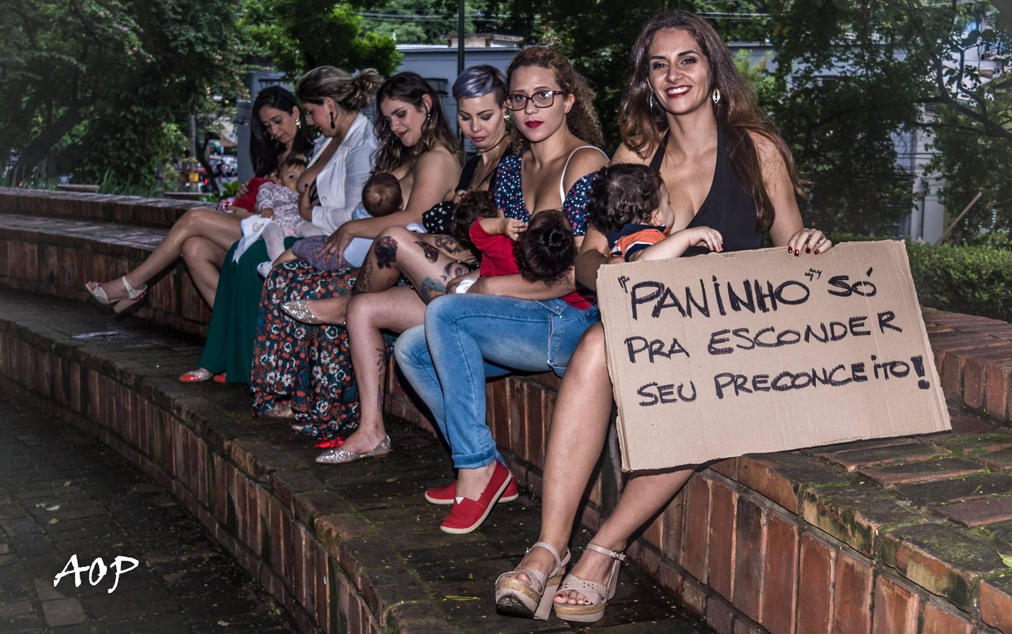 Ideia é acabar com preconceito em torno da amamentação em público (Foto: Alexandre Périgo)