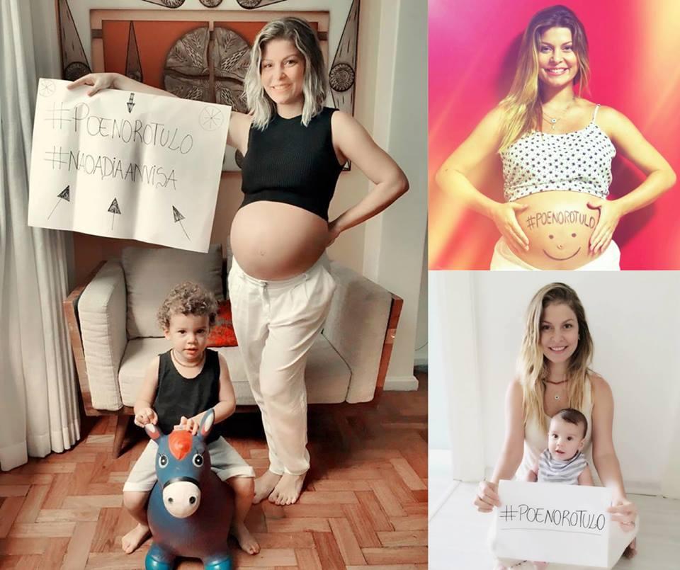 A atriz Bárbara Borges também participa da campanha #põenorótulo (Foto: Divulgação)