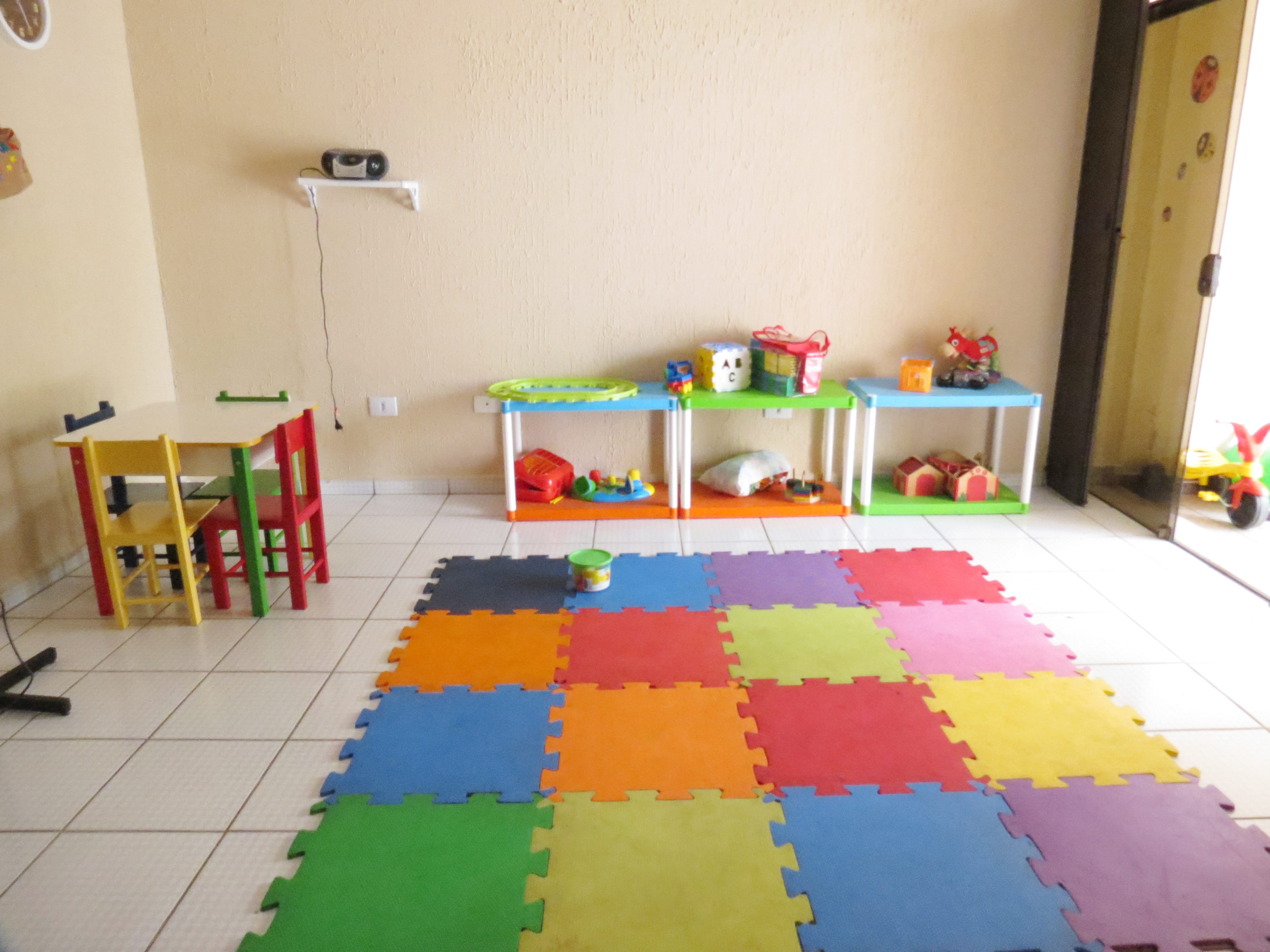 Espaço para os bebês na Casa Laço (Foto: Divulgação)