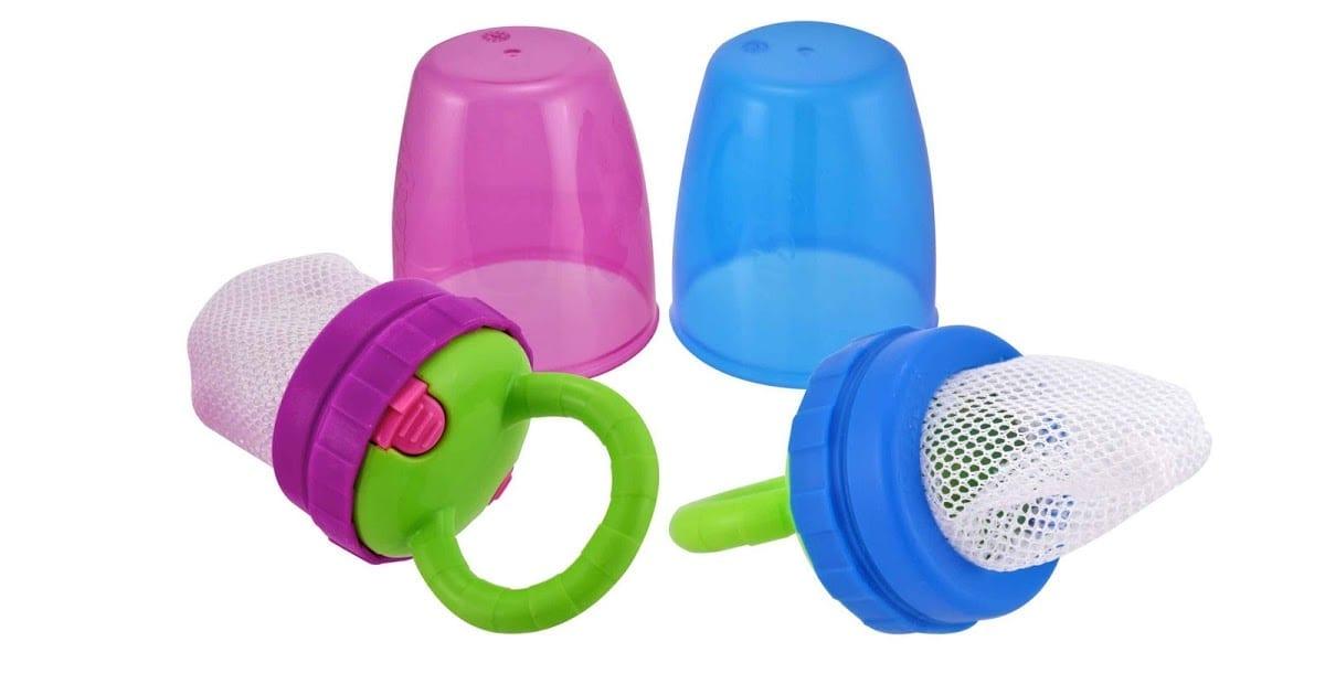 Alimentador infantil tem sido usado na introdução alimentar (Foto: Reprodução)