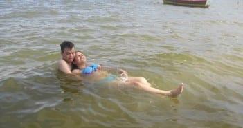 Sabrina e o marido querem ter parto domiciliar (Foto: arquivo pessoal)