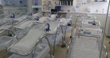 Berçário vazio na maternidade Pro Matre; lugar de bebê é ao lado da mãe (Foto: Mães de Peito