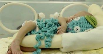 Polvos têm sido usados para acalmar bebês na UTI (Foto: Matheus Oliveira/GDF/Divulgação)
