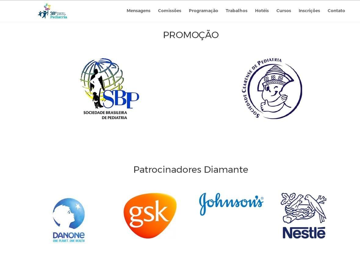 Patrocinadores do evento (Foto: Reprodução)