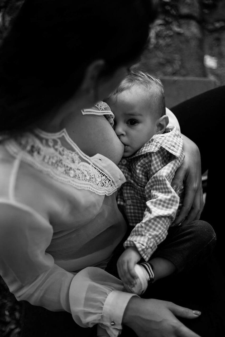 Mamar após as refeições não traz prejuízos ao bebê (Foto: Katia Ribeiro)
